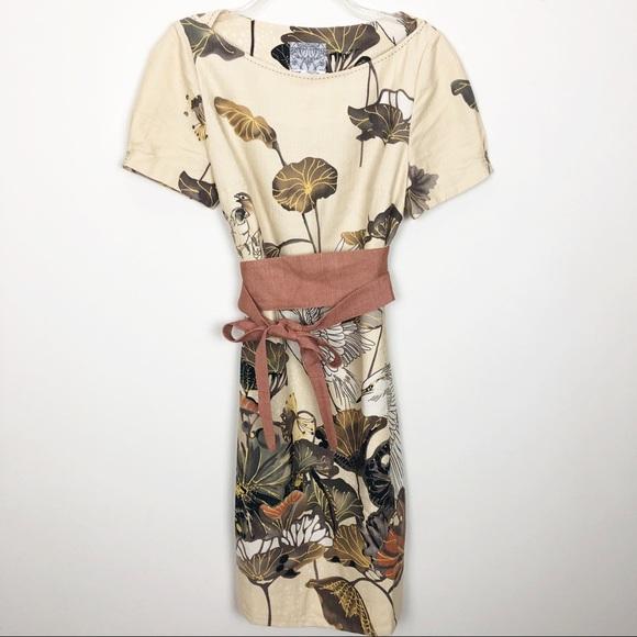 31fdd012bd9c7 Anthropologie Dresses & Skirts - Anthropologie | Floreat snowy Egret shift  dress